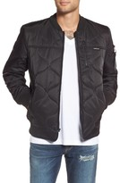 Members Only Men's Quilted Bomber Jacket