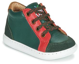 Shoo Pom BOUBA ZIP BOX boys's Shoes (Trainers) in Green