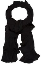 Magaschoni Cashmere Ruffle Scarf w/ Tags