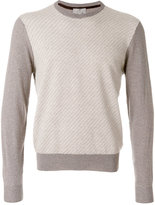 Canali elbow patch jumper - men - Wool - 48