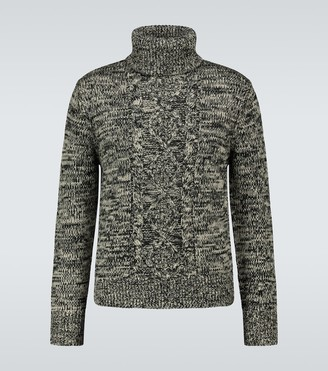 Isabel Marant Liam cable knitted sweater