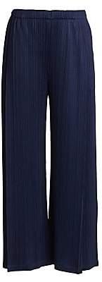 Pleats Please Issey Miyake Women's Monthly Colors November Wide-Leg Pants