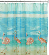 Bacova Guild Flamingo Shower Curtain