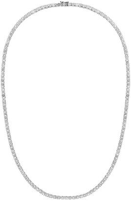 777 18kt White Gold Diamond Necklace