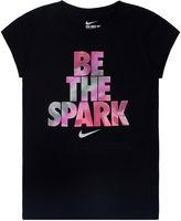 Nike Be the Spark Short-Sleeve Cotton Tee - Preschool Girls 4-6x