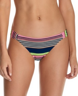 Raisins Juniors' Calafia Laguna Printed Indigo Bikini Bottoms Women's Swimsuit