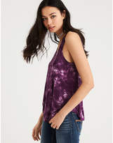 American Eagle AE Soft & Sexy Tie Dye Scoop Neck Tank Top
