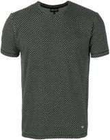 Emporio Armani intarsia knit T-shirt - men - Polyester/Spandex/Elastane/Viscose - S