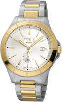 Ferré Milano Men's FM1G080M0071 Dial With Two-Tone Stainless-Steel Band Watch.
