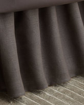 Pine Cone Hill King Stone Washed Linen Dust Skirt
