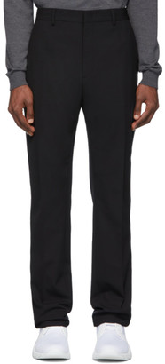 Fendi Black FF Tape Trousers