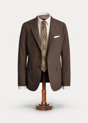 Ralph Lauren Houndstooth Wool Suit Jacket