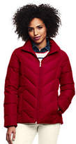Lands' End Women's Tall Down Jacket-Rich Red