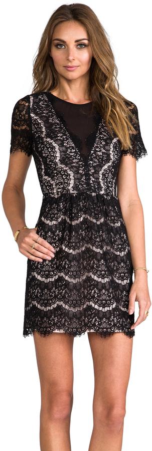 Dolce Vita Saurus Eyelash Lace Dress