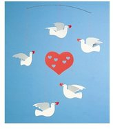 Flensted Mobiles Peace & Love Mobile