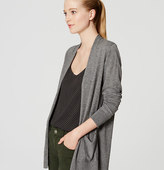 LOFT Open Pocket Cardigan