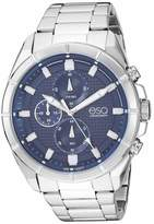 ESQ Men's Stainless Steel Chronograph Watch w/ Blue Dial FE/0130
