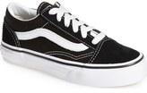 Vans 'Old Skool' Skate Sneaker (Toddler, Little Kid & Big Kid)