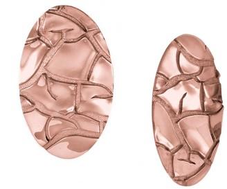 Marie June Jewelry Barren Rose Gold Earrings