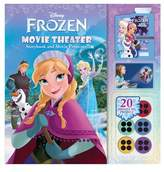Simon & Schuster Disney Frozen: Movie Theater Storybook & Movie Projector.