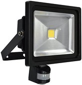 Titan 30w LED 100° PIR Floodlight in Black - TF30WLEDPIR