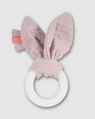 Kikadu - Pink Developmental Toys - Fawn Teether - Size One Size at The Iconic