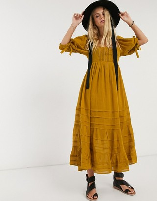 Free People lets be friends midi dress