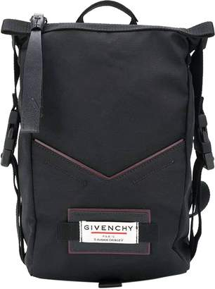 Givenchy black pannier backpack