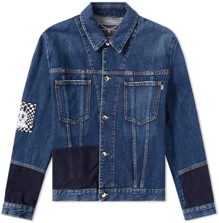 McQ Patch Denim Jacket