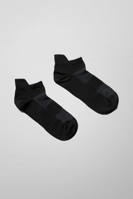 Weekday Aron Sneaker Socks - Black