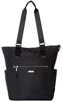 Baggallini New Classic Make Way Tote with RFID Wristlet (Black) Handbags