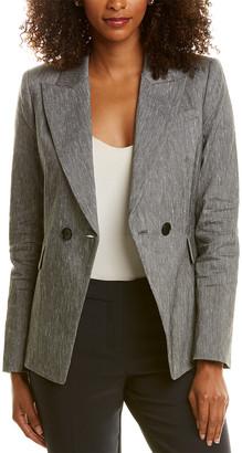 Elie Tahari Jezebel Linen-Blend Jacket