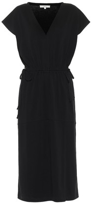 Vince Pima cotton jersey midi dress