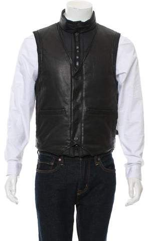 Givenchy Leather-Accented Puffer Vest