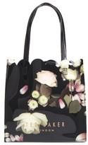 Ted Baker Small Yaracon Kensington Floral Tote - Black