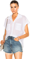 Enza Costa Sleeveless Boxy Shirt