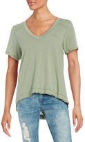 Free People Pearl V-Neck Tee