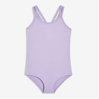 Joe Fresh Toddler Girls' Active Bodysuit, Lavender (Size 3)