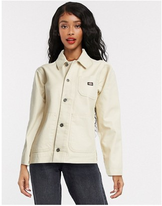 Dickies Toccoa chose jacket in taupe