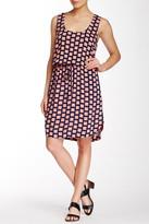 Splendid Checkered Drawstring Dress