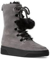 MICHAEL Michael Kors Juno Faux Fur Trim Cold Weather Ankle Boots