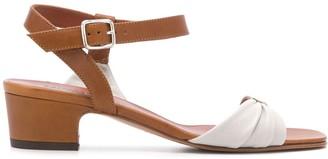 Michel Vivien Hoku mid-heel sandals