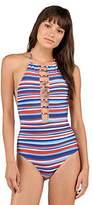 Volcom Women's Pride Americana One Piece Swimsuit