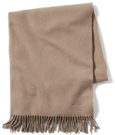 Banana Republic Luxe Vintage Hermes Beige Cashmere Shawl