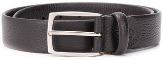 Canali Rounded-Square Buckle Belt