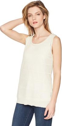 Calvin Klein Women's Sleeveless Lurex Shell