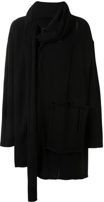 Yohji Yamamoto Big Pocket Zip-Up Cardigan