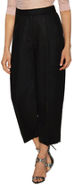 Milly Tumbled Cropped Wide Leg Pant