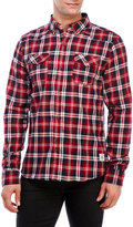 Bellfield Daintree Plaid Button-Down Shirt
