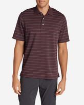 Eddie Bauer Men's Voyager II Polo Shirt - Stripe